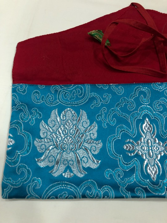Tibetan Long Turquoise Dharma Book Cover/text Cover