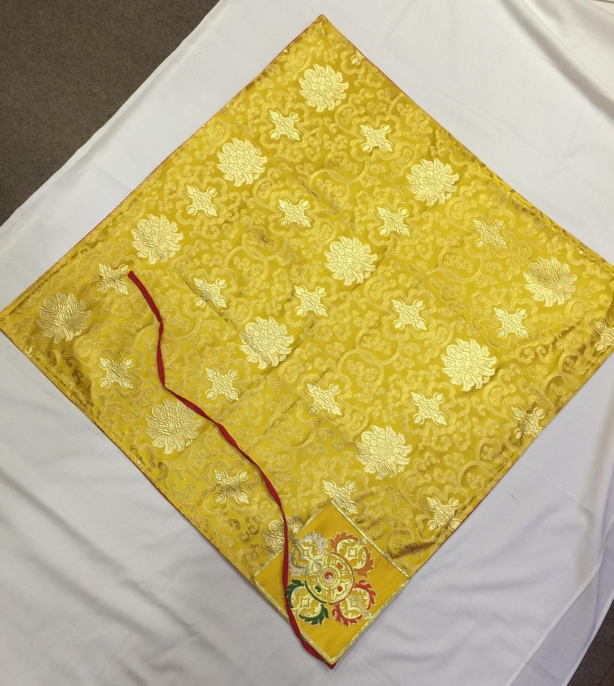 Tibetan Buddhist Dharma Text Cover / Book Wrapper