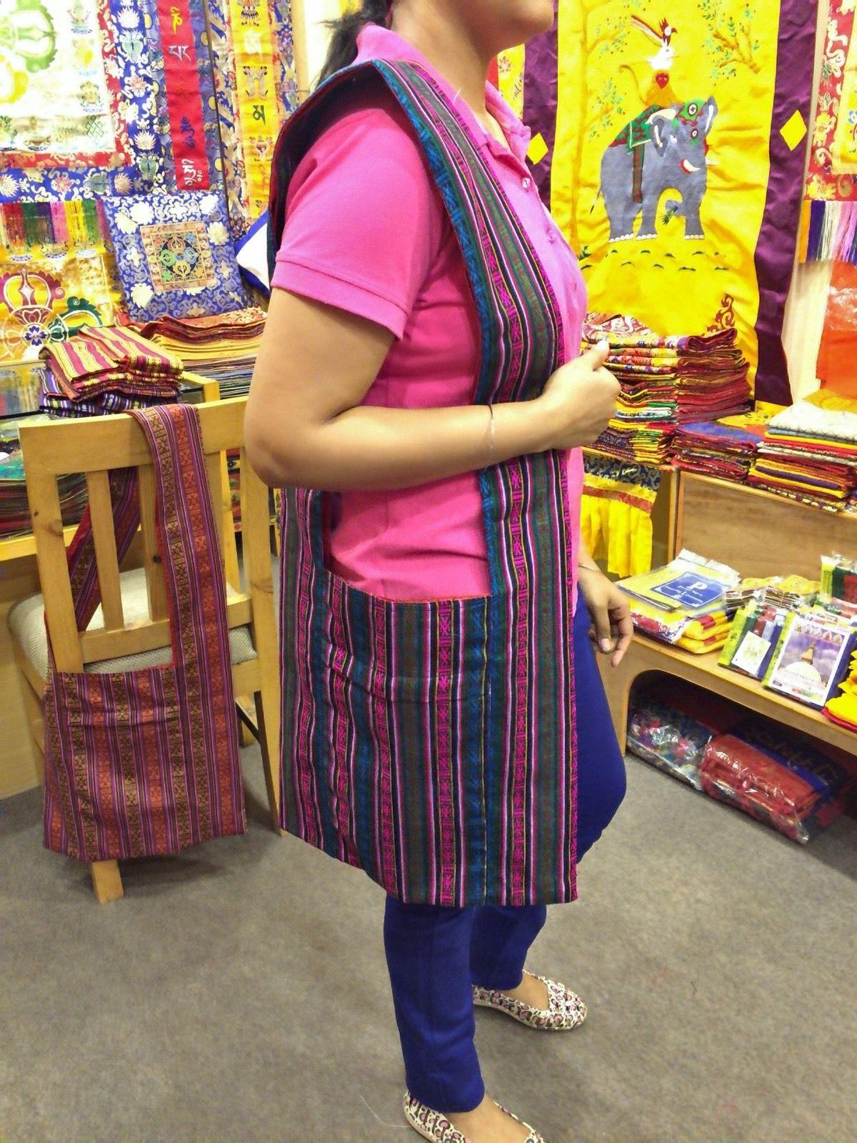 Bhutanese Cotton Lama/monk/shoulder/bag