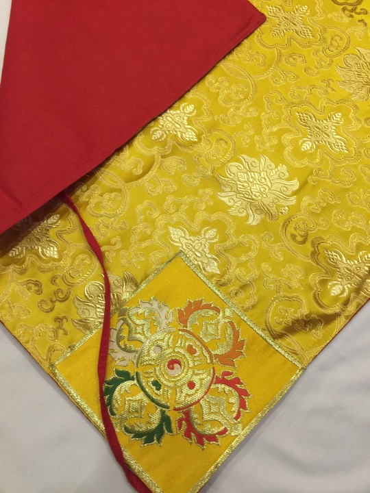Tibetan Buddhist Dharma Text Cover / Book Wrapper
