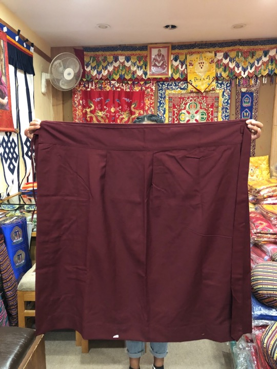 Tibetan Buddhist Meditation Skirt/ Monks Skirt