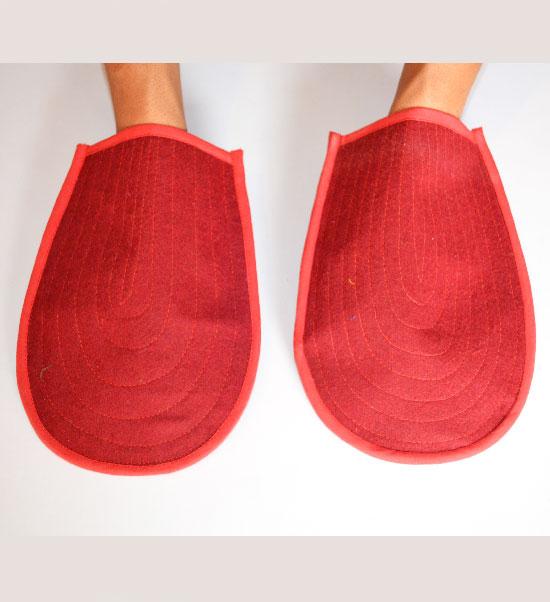 Tibetan Prostration Hand Pads / Mats / Gloves