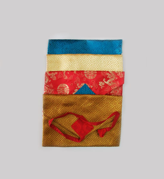 Tibetan Small Size Silk Text Covers